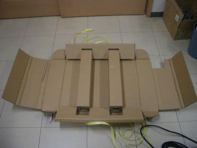 「冷却水循環装置・チラー梱包材」の画像