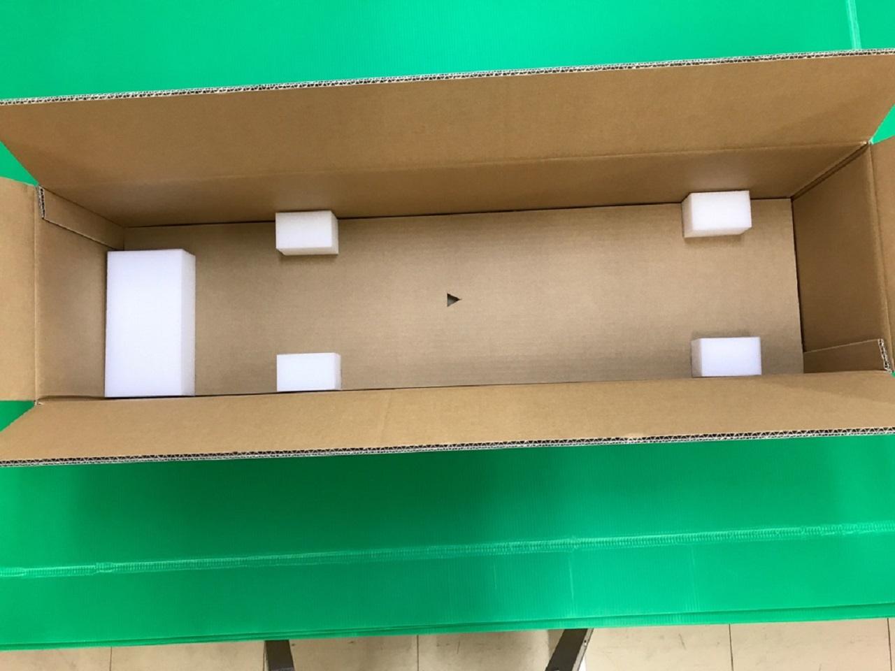 「コルゲートチューブ切断機梱包材」の画像