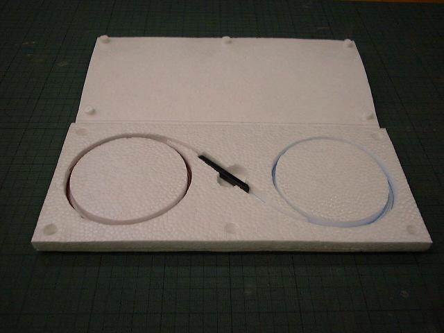 「光ケーブル収納箱」の画像