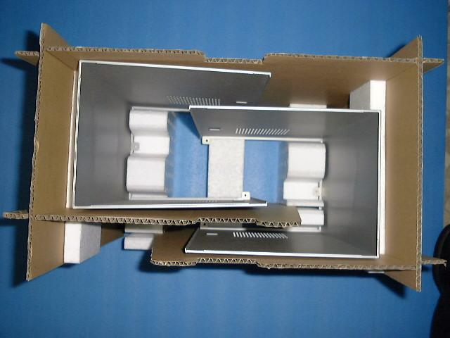 「異形板金加工品の通い箱」の画像